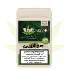 "firstclass Indoor CBD ""green one"" 1.2g"