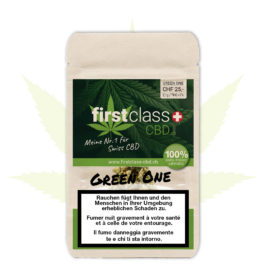 "firstclass Indoor CBD ""green one"" 2.1g"