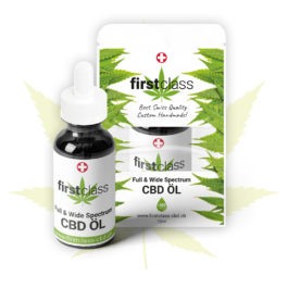 firstclass CBD Öl Full & Wide Spectrum